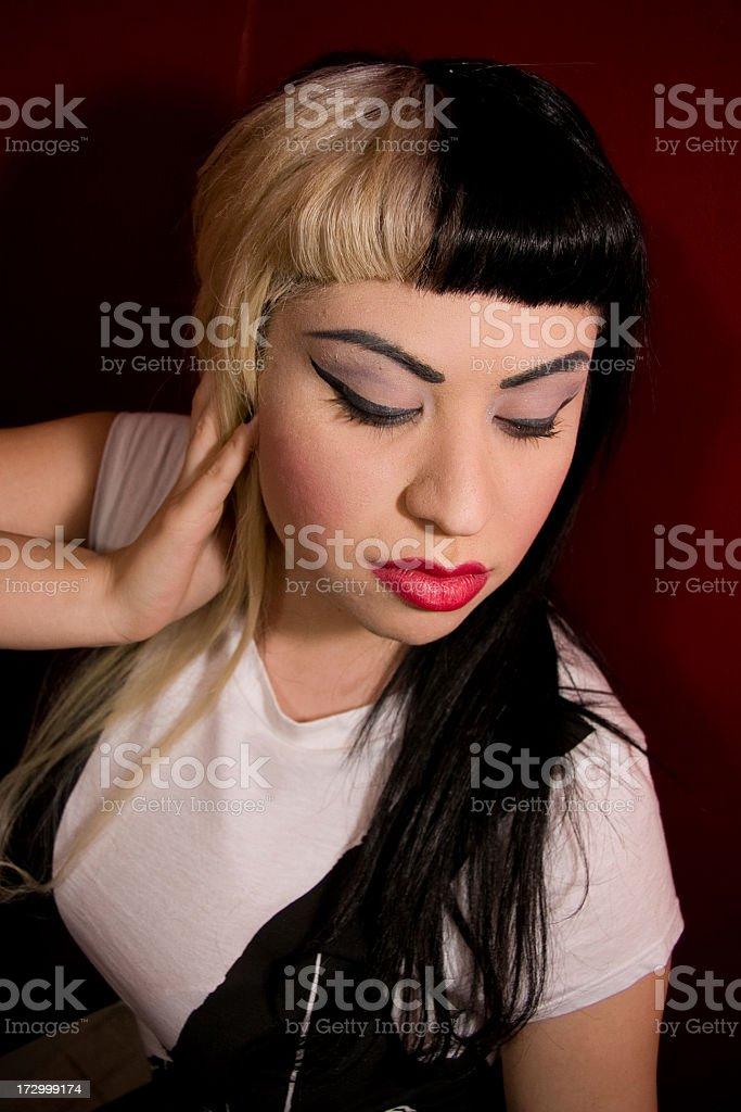 Crystal Portrait stock photo