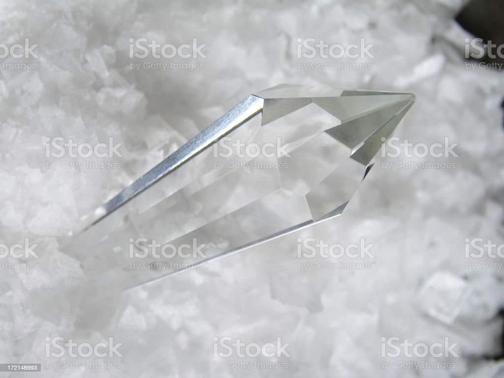 Crystal Quartz royalty-free stock photo