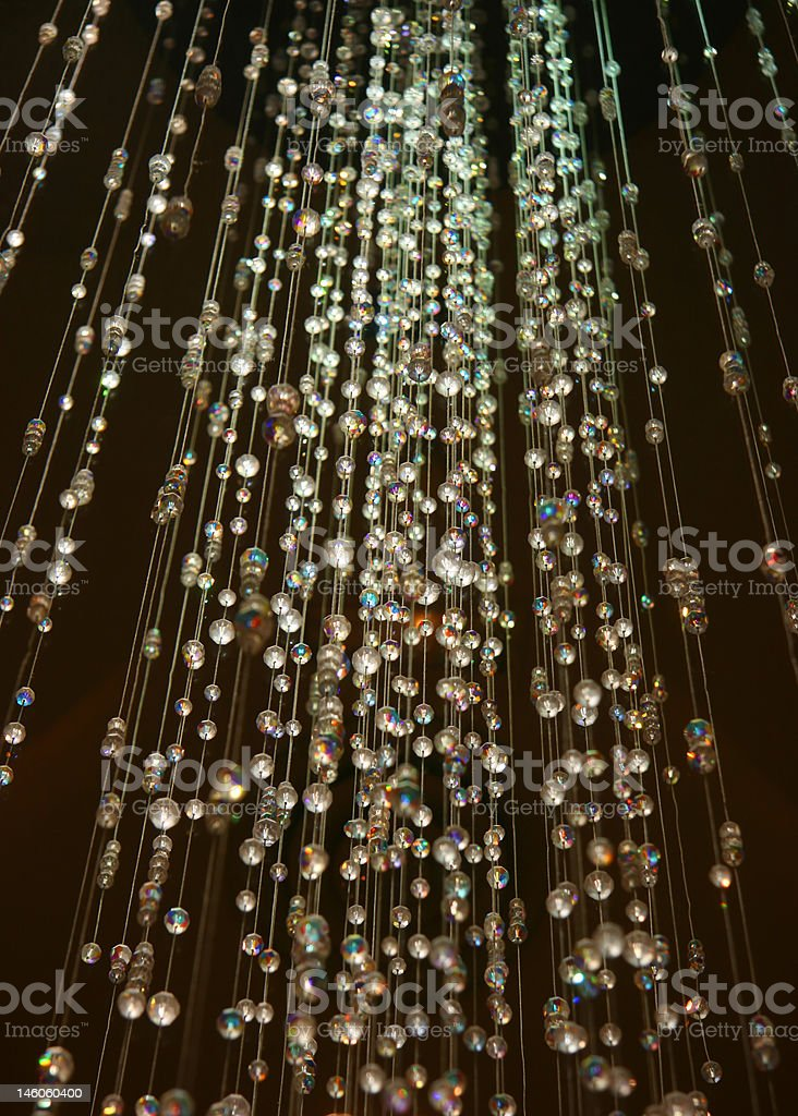 Crystal shower royalty-free stock photo