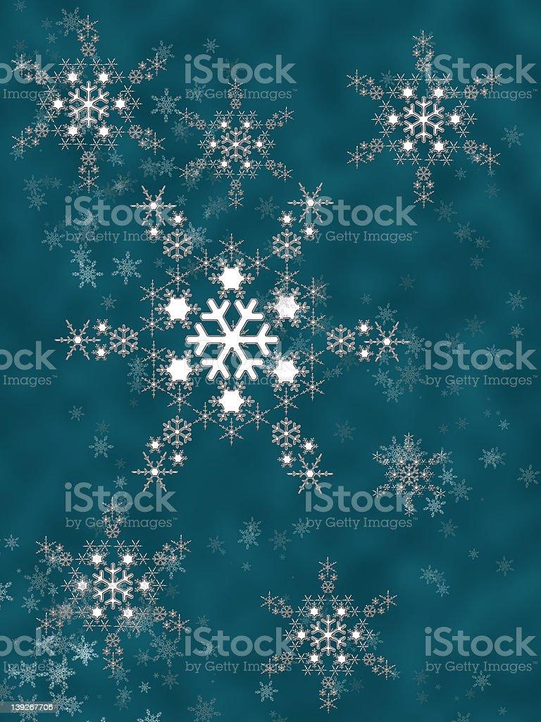 crystal snowflake stock photo