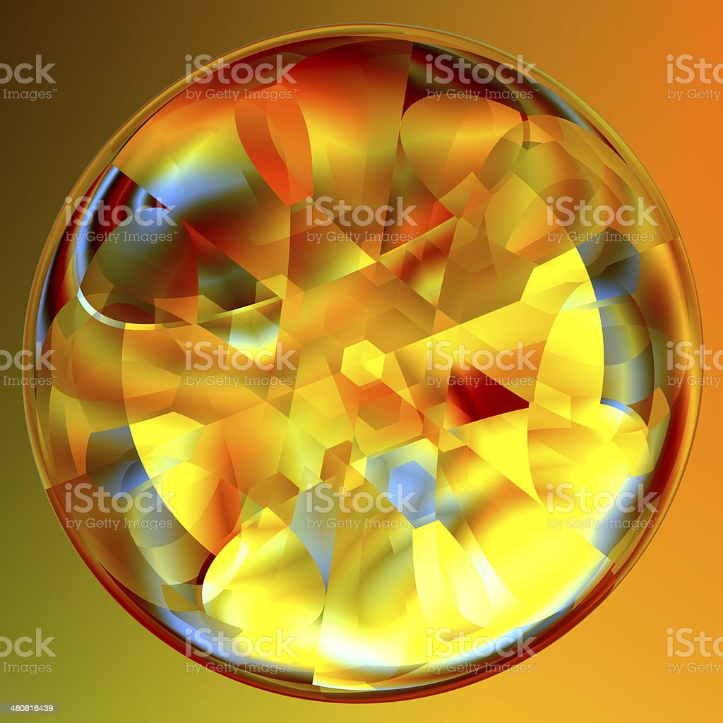 Crystal Sphere stock photo