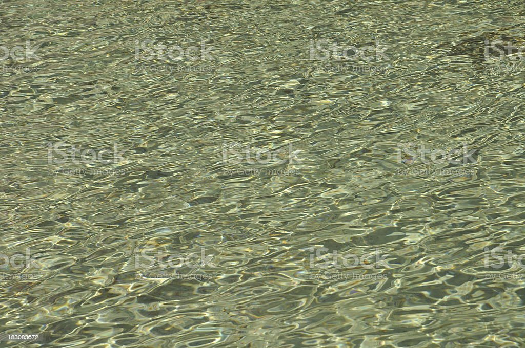 Crystal water background royalty-free stock photo