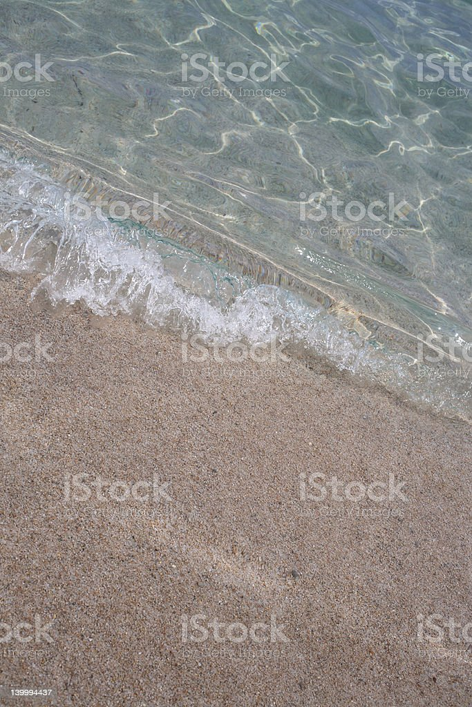 crystal water royalty-free stock photo