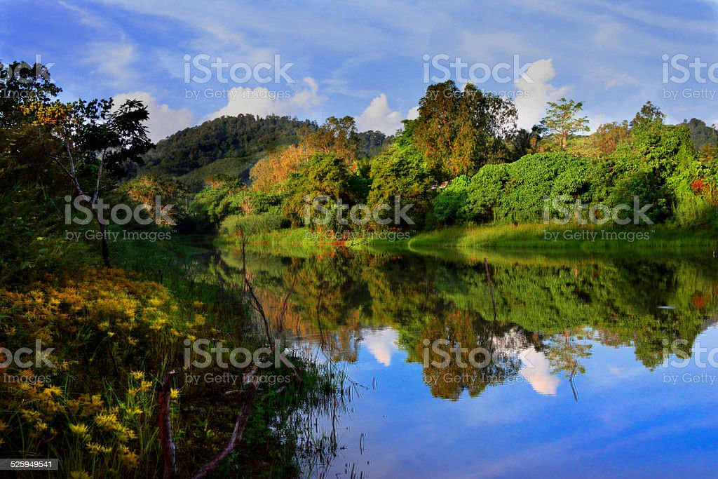 Crystal Waters of Nong royalty-free stock photo