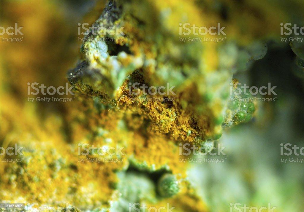 Crystal.extreme closeup stock photo