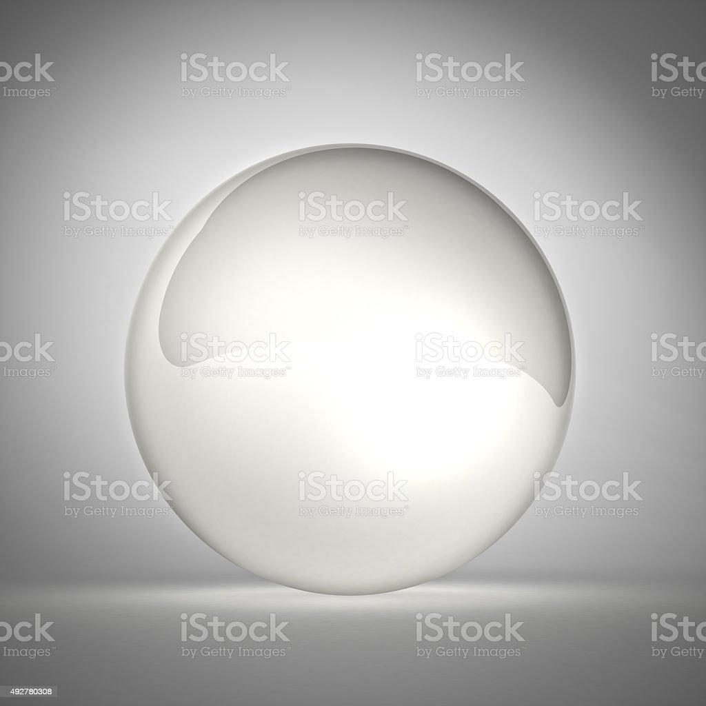 crystall ball stock photo
