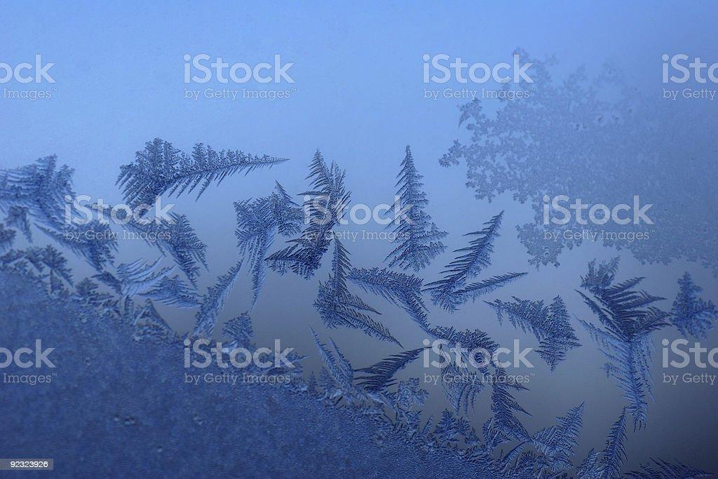 Crystalline Window royalty-free stock photo