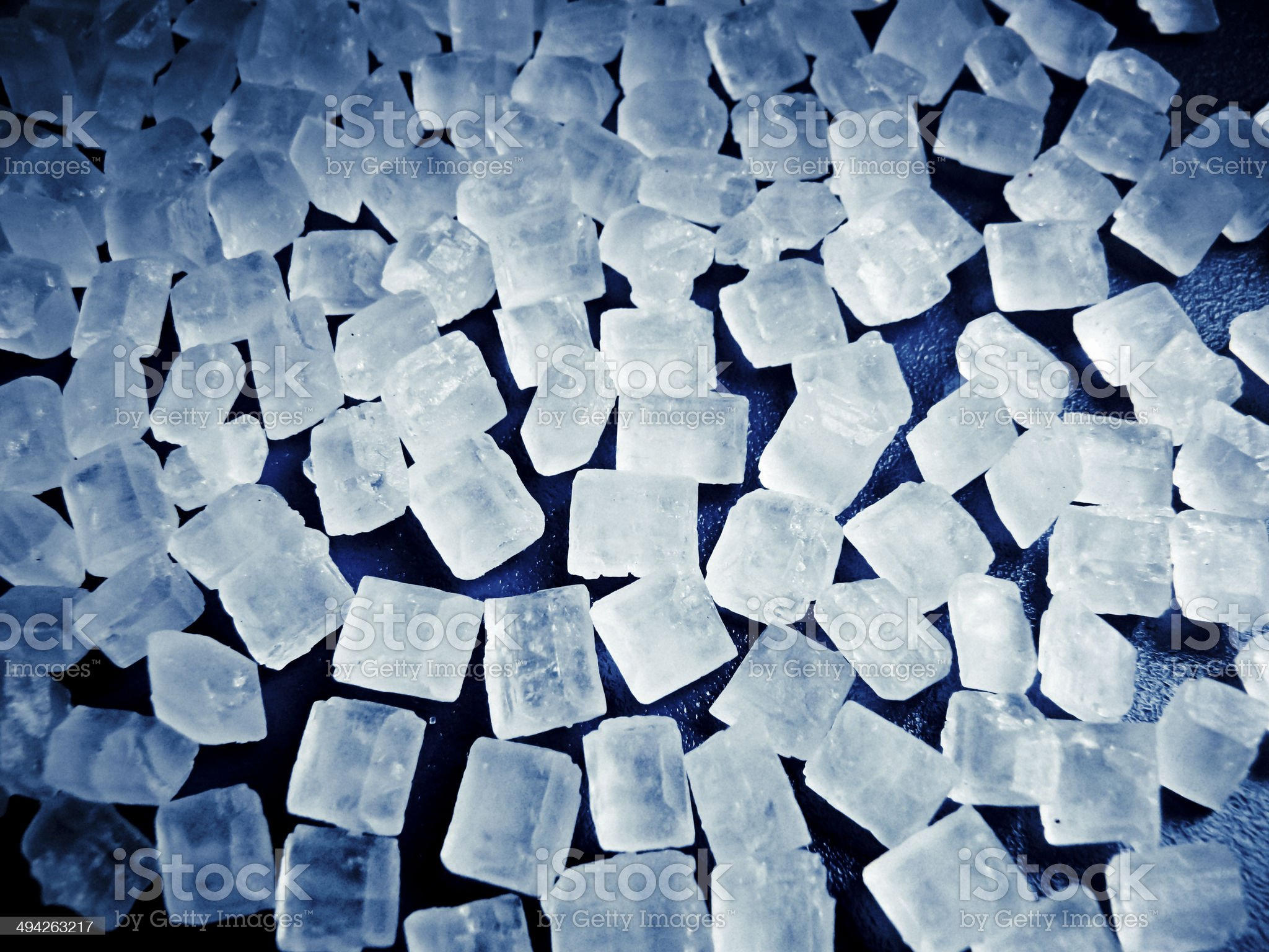 Crystals of sugar royalty-free stock photo