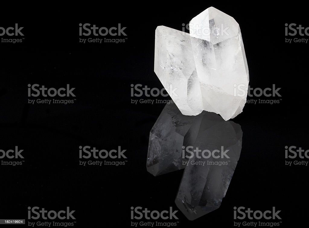 Crystals used in Healing Sessions royalty-free stock photo