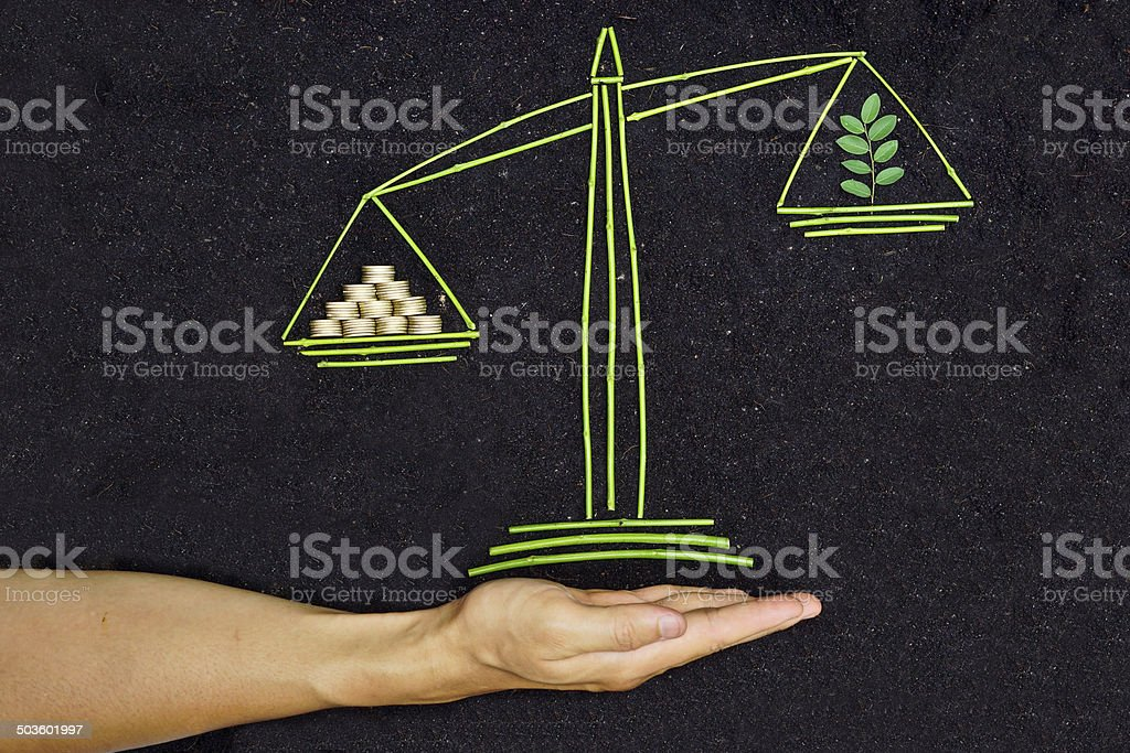 csr and ethics of business stock photo