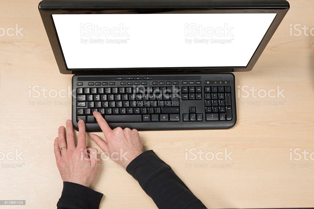 Ctrl Z - Undo shourtcut PC keyboard stock photo