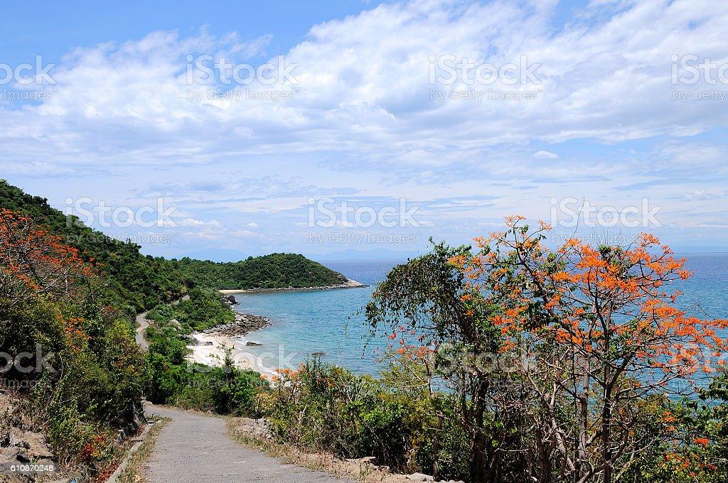 Cu Lao Cham island, Danang, Vietnam stock photo