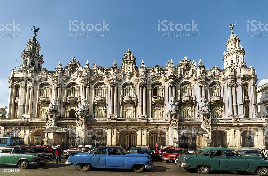 Havanna, Cuba - DECEMBER 24:cuba architecture, 2012 stock photo