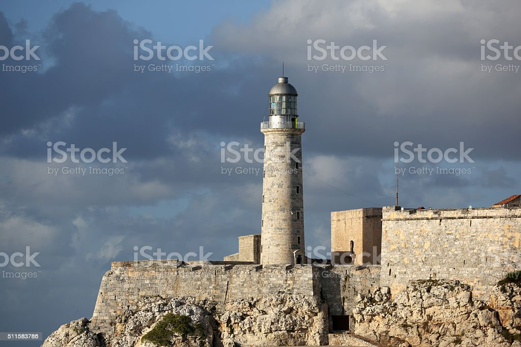 Cuba, Havana, Moro Castle stock photo