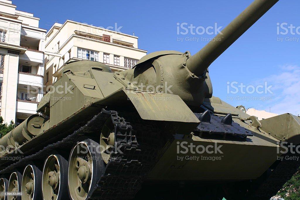 Cuba- Tank royalty-free stock photo