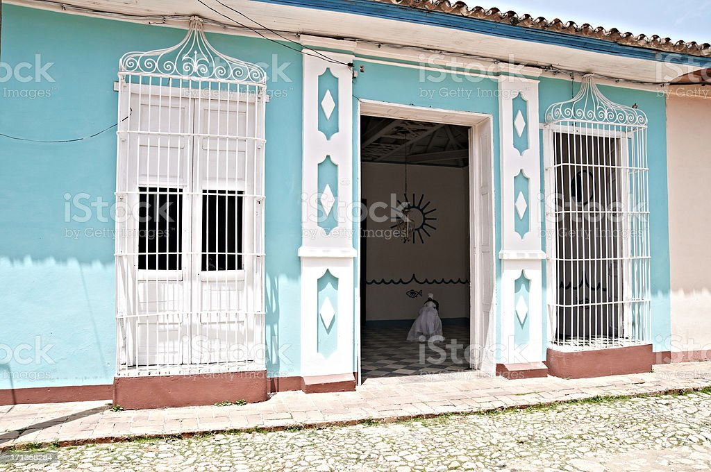 Cuba - Trinidad royalty-free stock photo