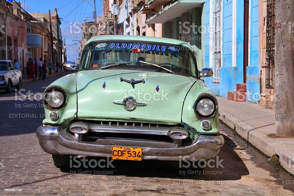 Cuba yank tank stock photo