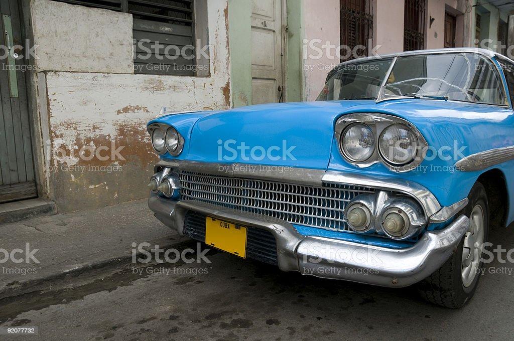 Cuban Blue royalty-free stock photo