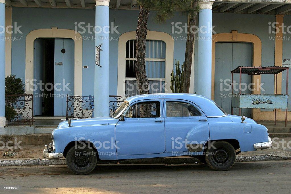 Cuban  car, Vinales royalty-free stock photo