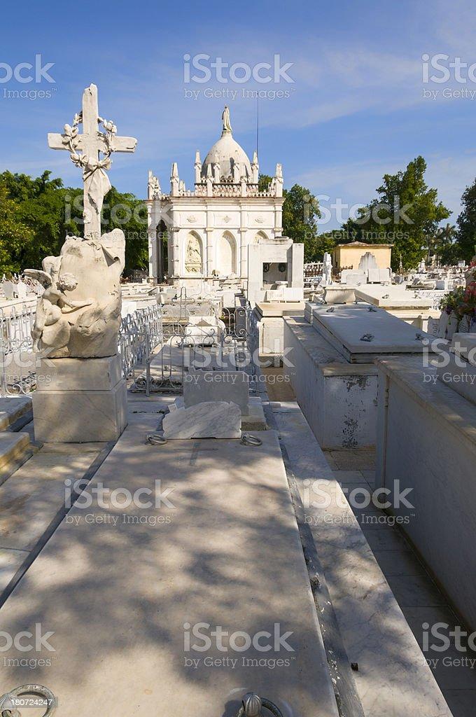 Cuban Cemetery royalty-free stock photo