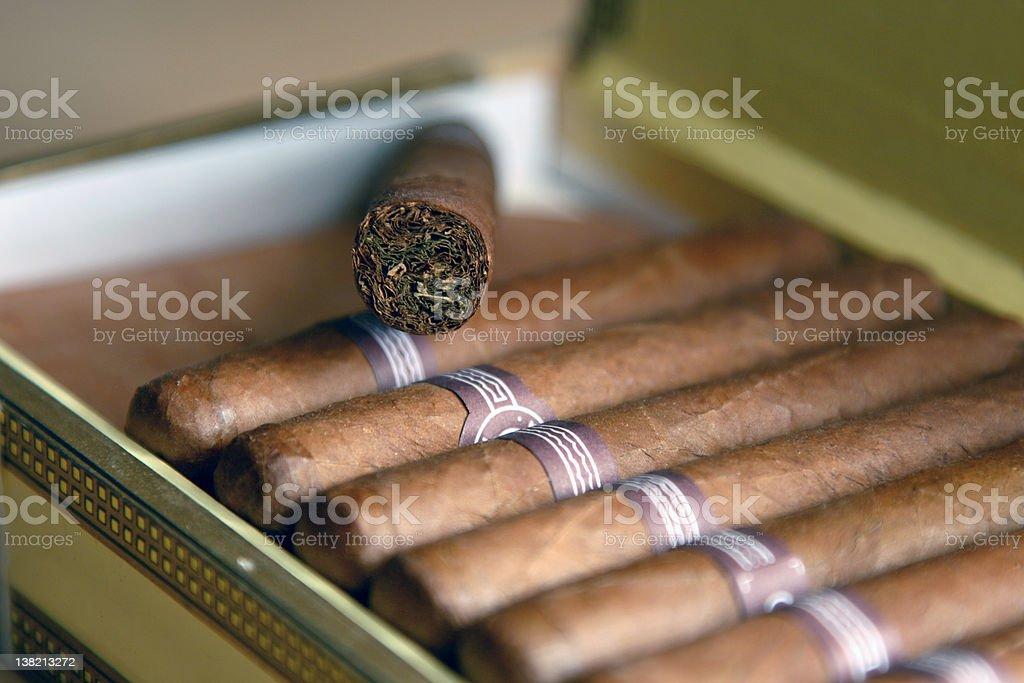 Cuban Cigars royalty-free stock photo