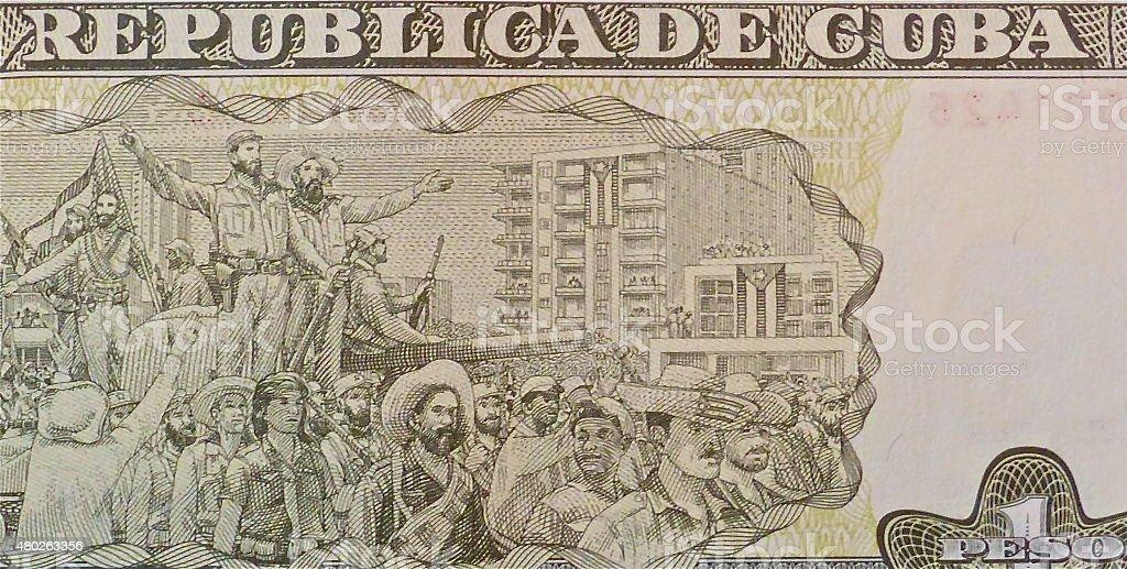 Monnaie cubaine, Monnaie, Symbole du peso, Billet de peso mexicain, Cuba stock photo