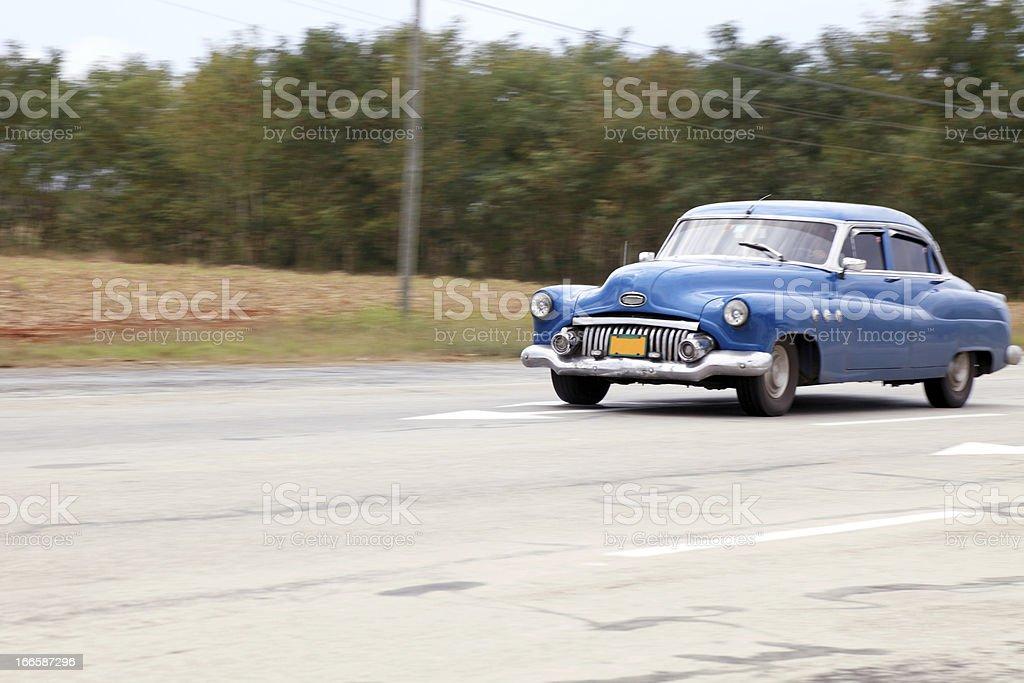 Cuban highway royalty-free stock photo