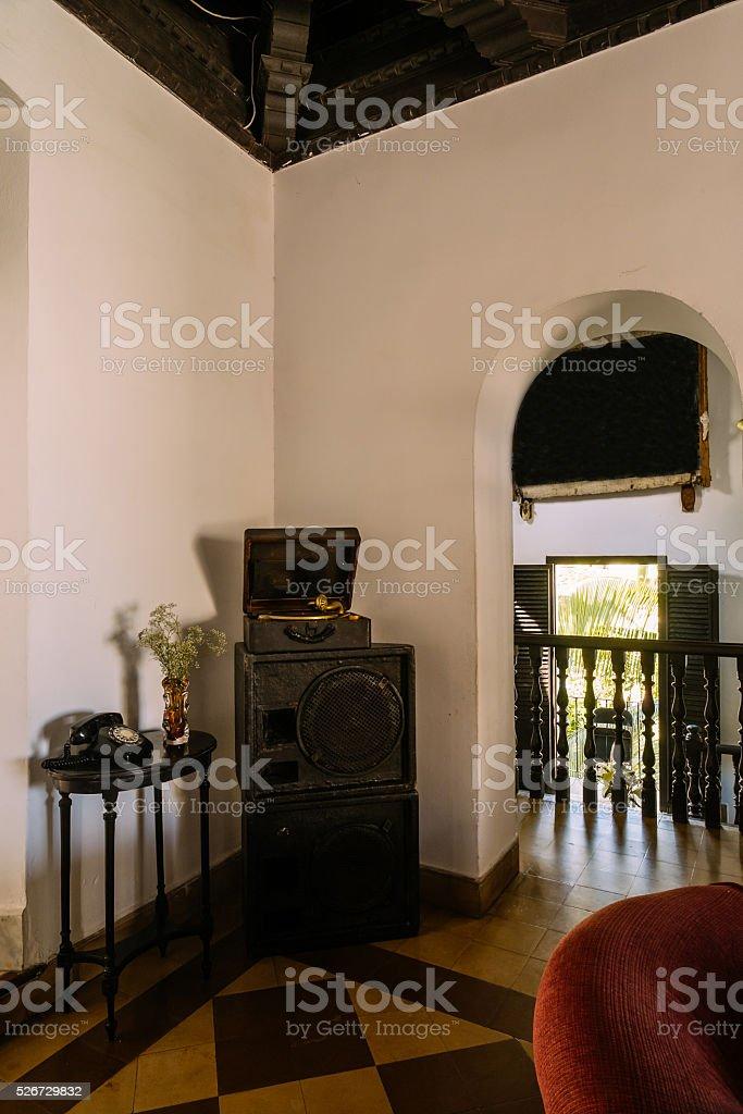 Cuban Interior stock photo