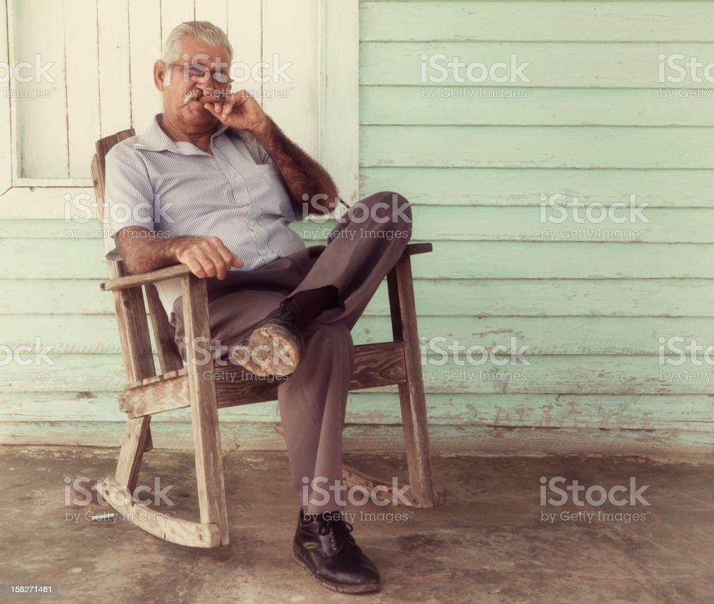 Cuban Man stock photo