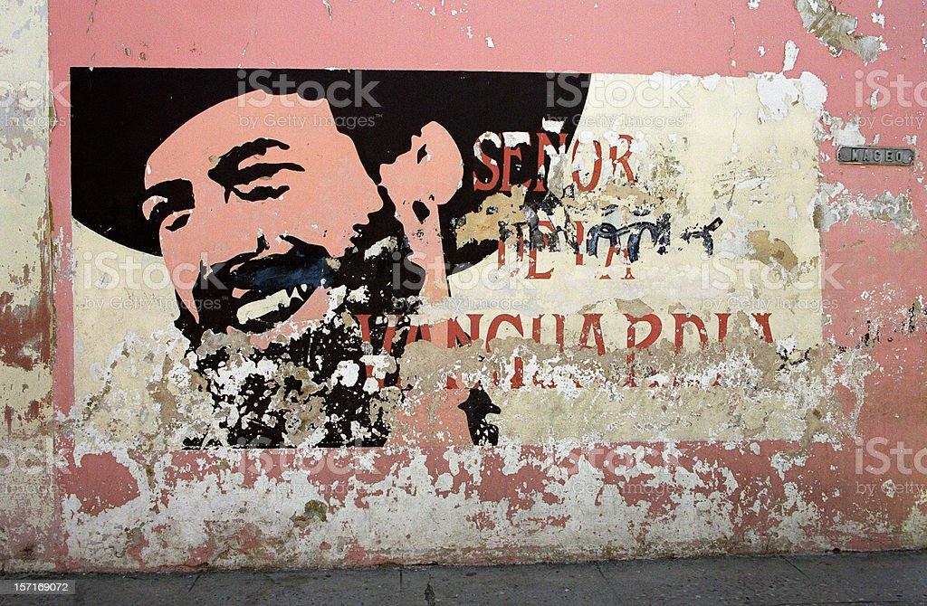Cuban  Mural royalty-free stock photo