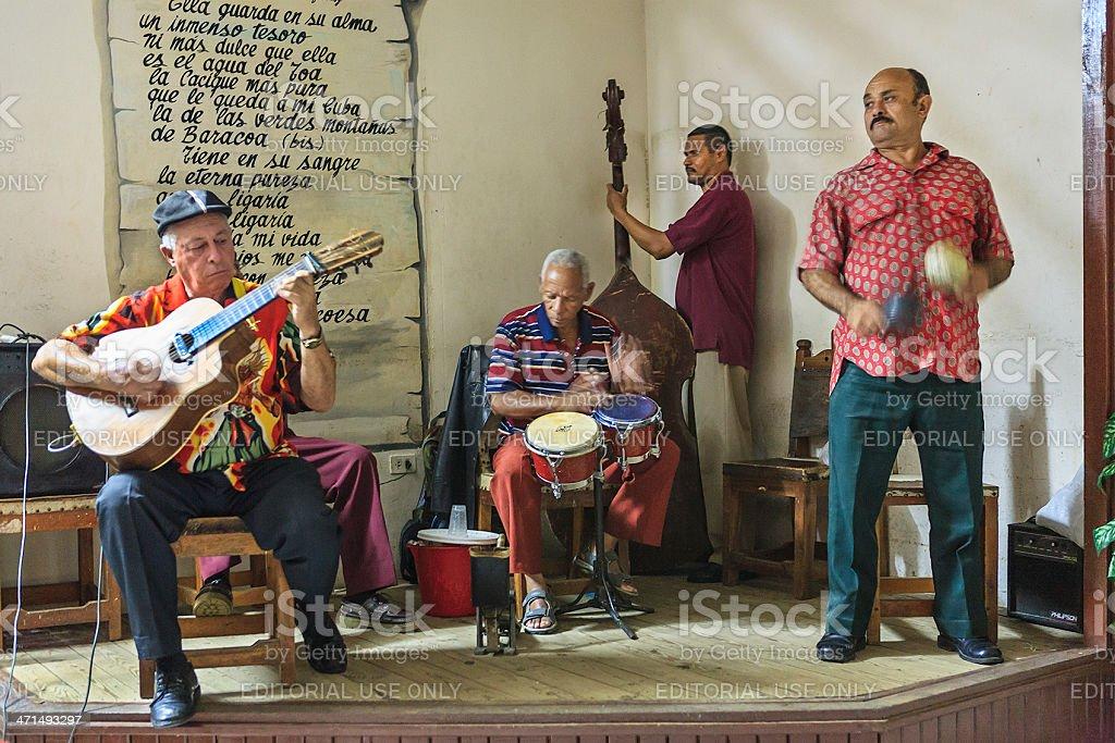 Cuban Musicians royalty-free stock photo