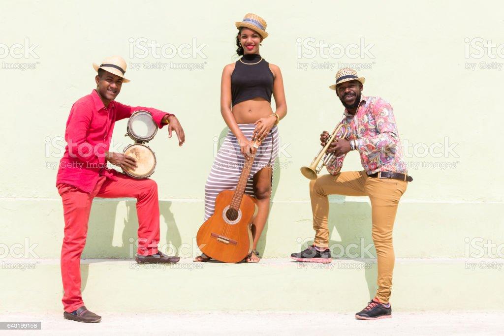 Cuban Musicians stock photo