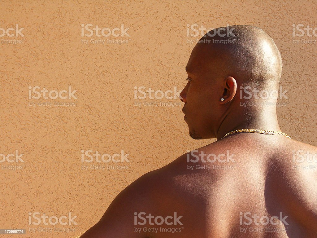 Cuban Profile royalty-free stock photo
