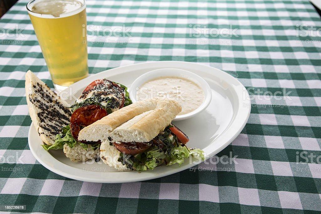Cuban Sandwich stock photo