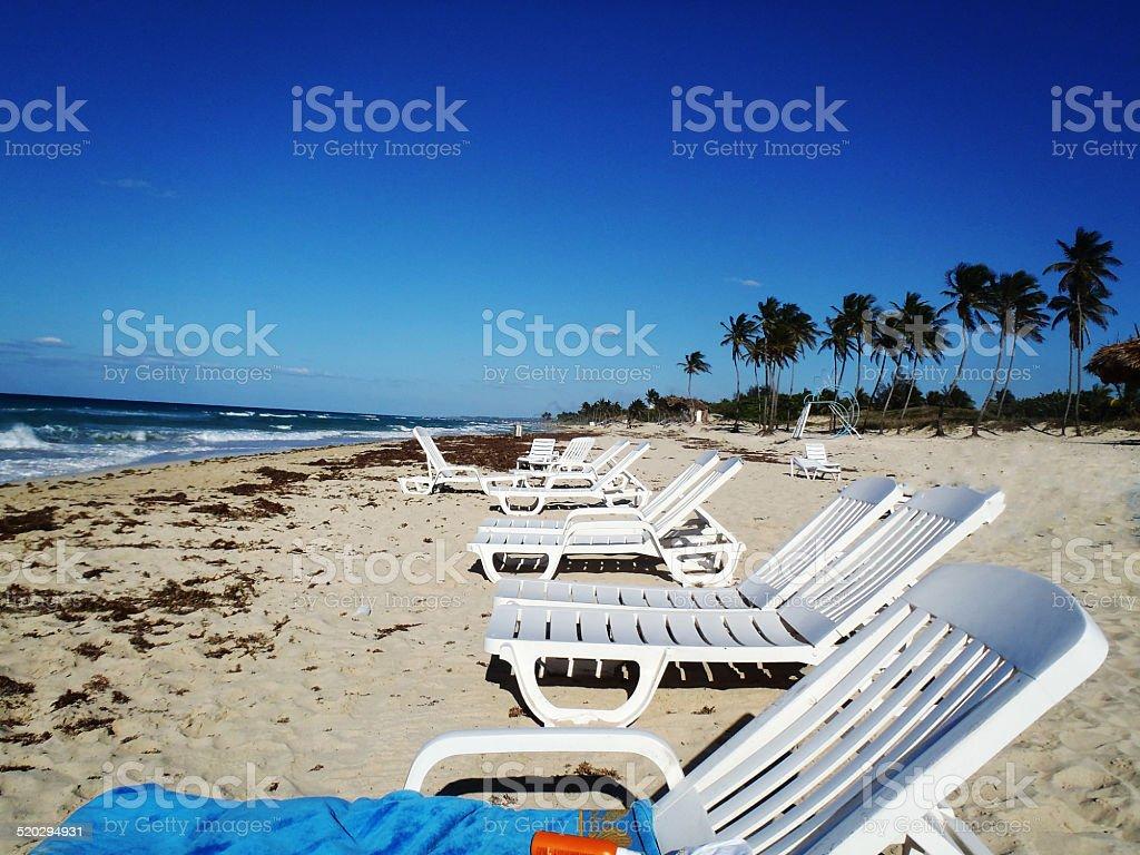 Cuban Seaside stock photo