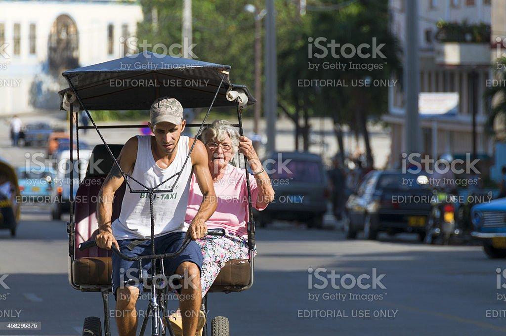 Cuban Taxi royalty-free stock photo