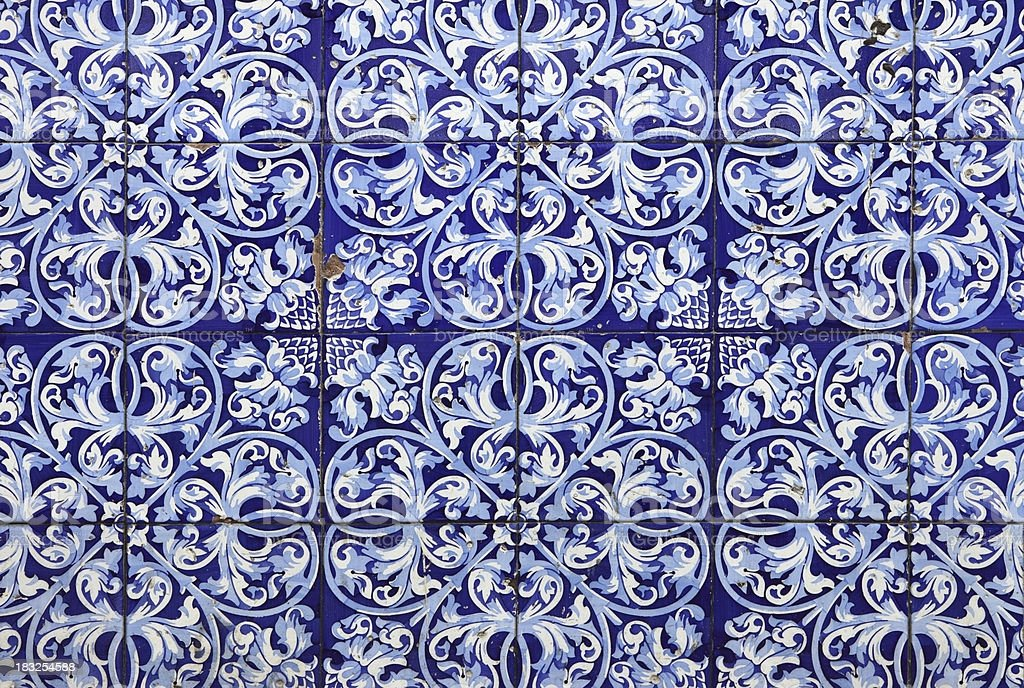 Cuban Tile stock photo