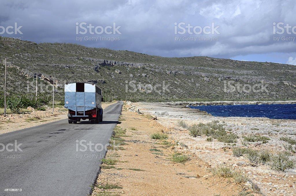 Cuban Truck stock photo