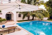 Cuban Villa Backyard Exterior
