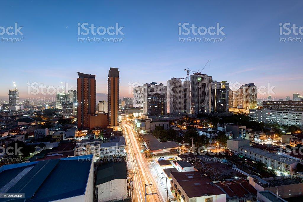 Cubao, Quezon City, Manila - Philippines. stock photo