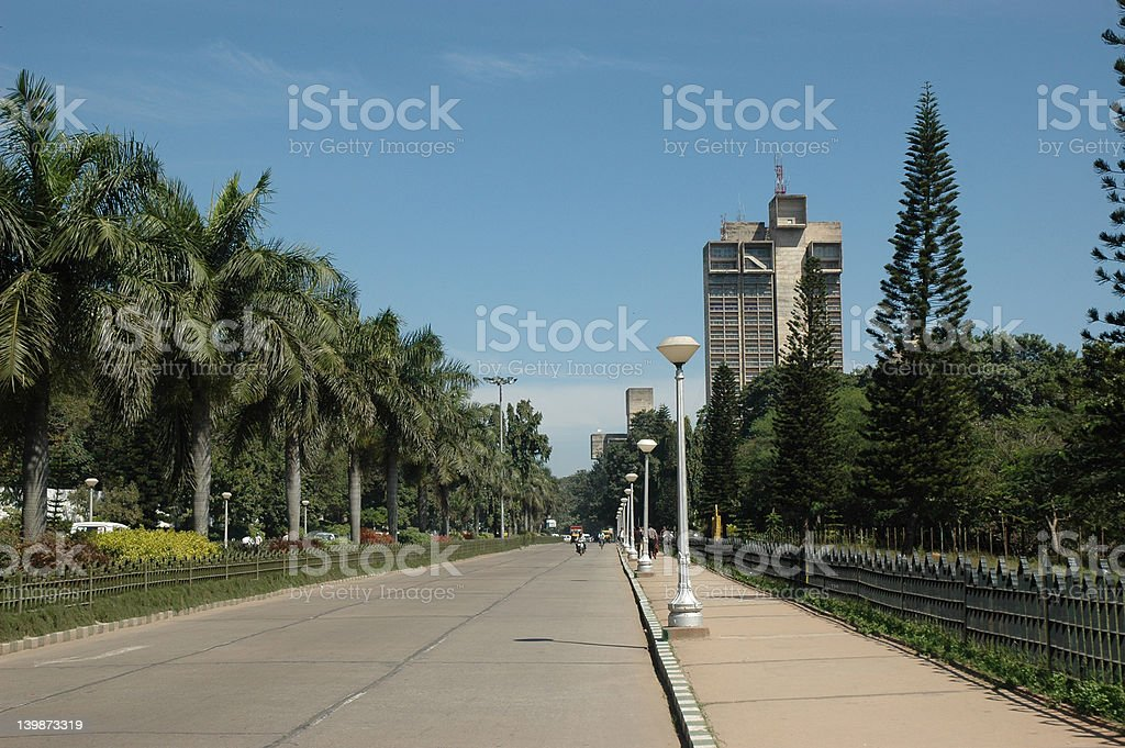 cubbon park, bangalore royalty-free stock photo