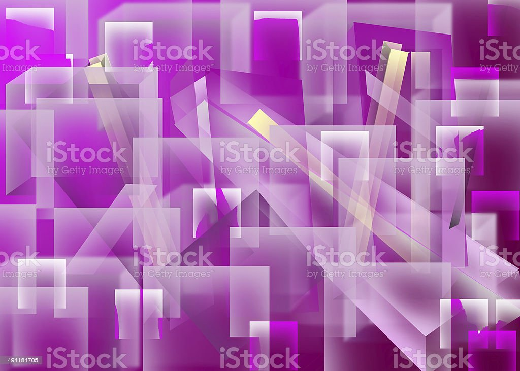 Cube Effect  Lights royalty-free stock photo