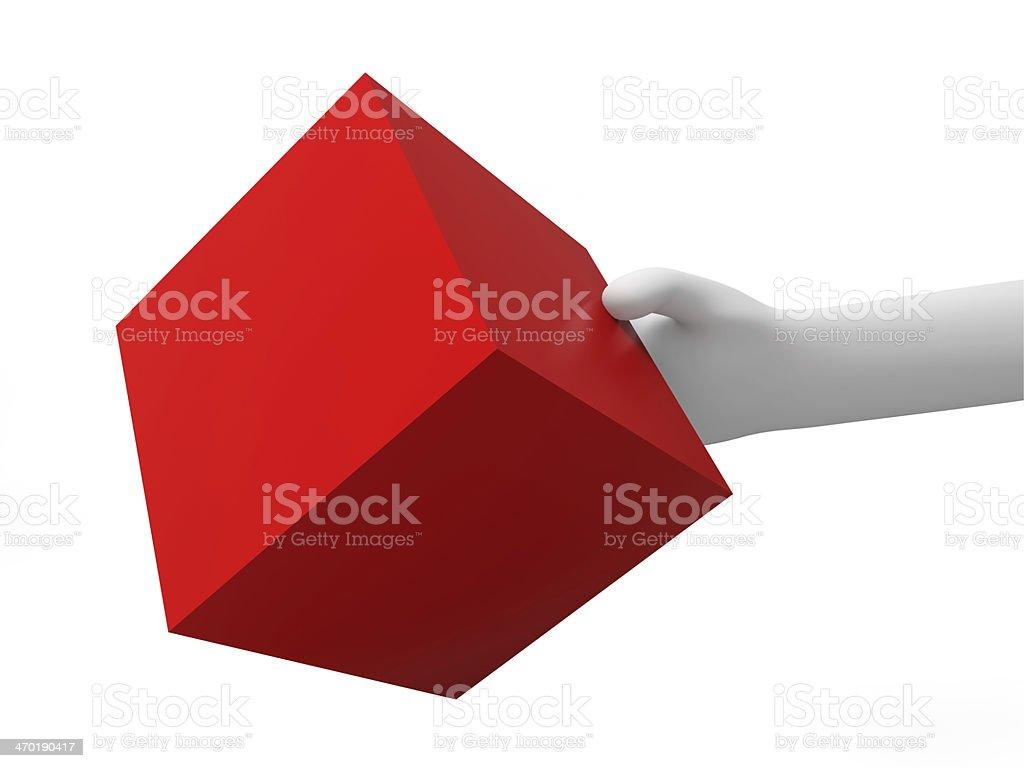 cube royalty-free stock photo