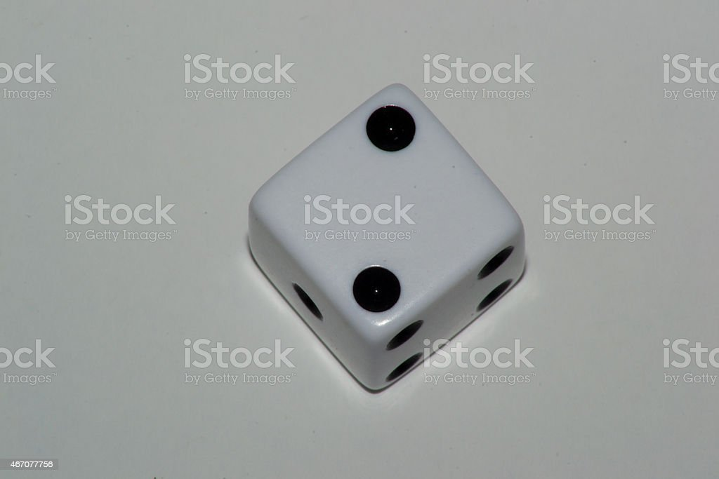 cube playing stock photo