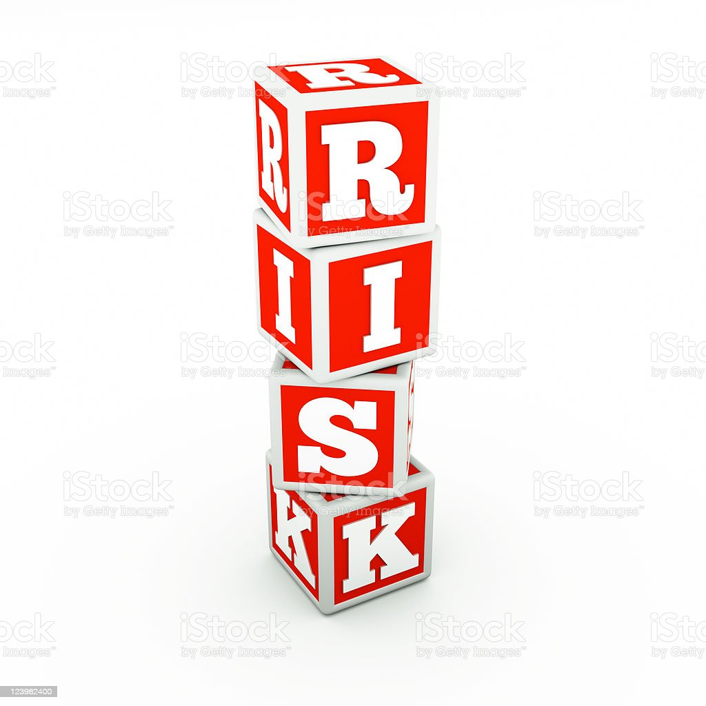 cube with word royalty-free stock photo