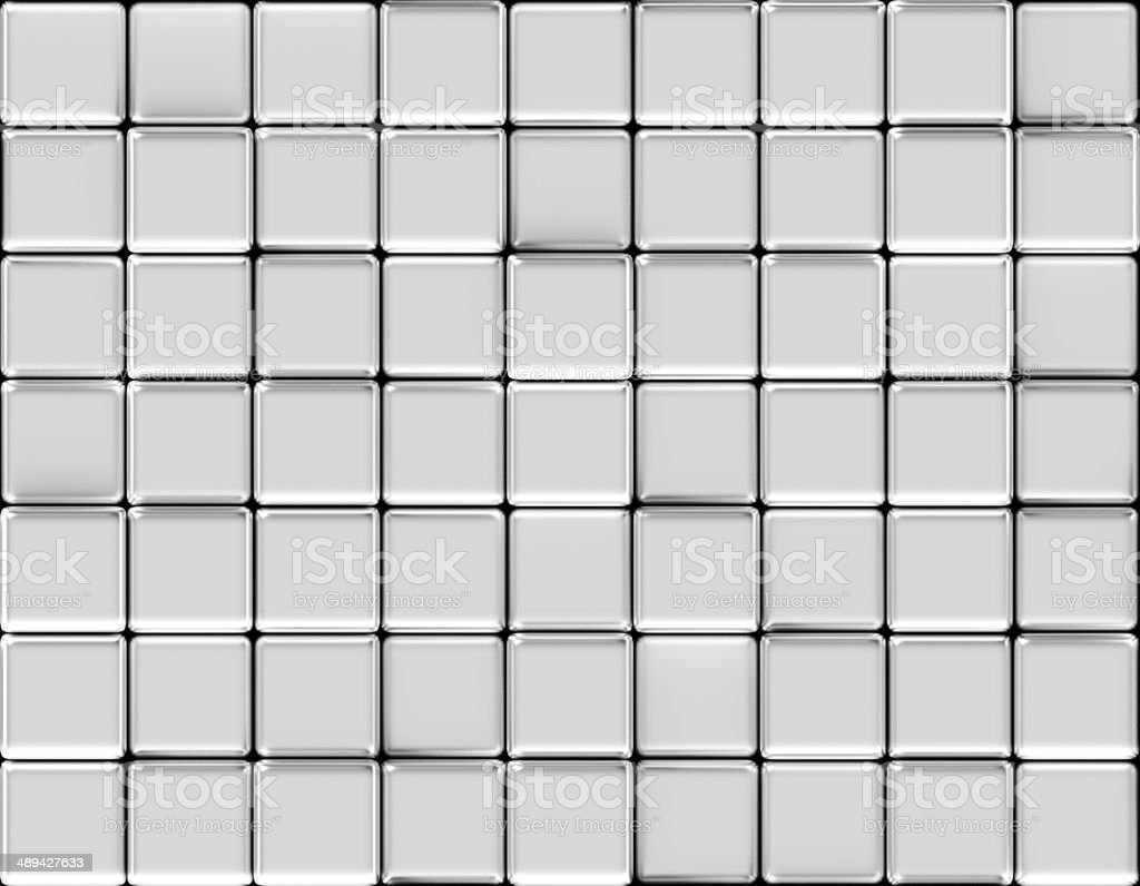Cubes abstract background silver royalty-free stock photo