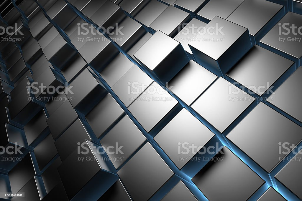 Cubes Background royalty-free stock photo