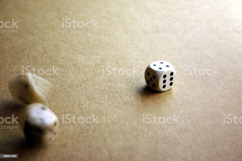 cubes in movement royalty-free stock photo