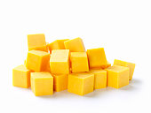 Cubes of Cheddar Cheese