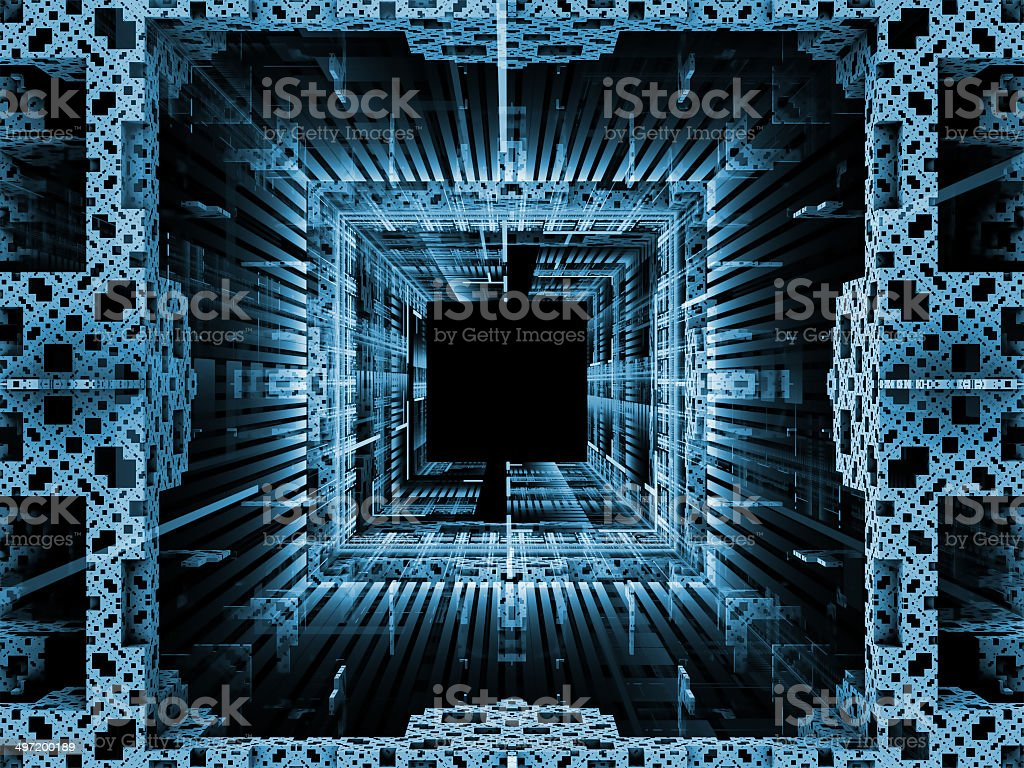 Cubic Background royalty-free stock photo